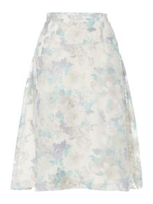Therapy Floral mesh full skirt