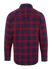 Lacoste Boys Long Sleeved Check Shirt