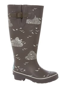 Brakeburn Birds and clouds welly