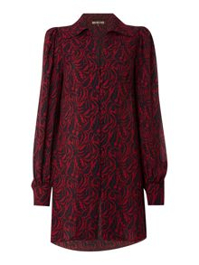 Heritage Longline printed tunic blouse