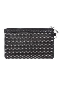 Mini stud black pouchette