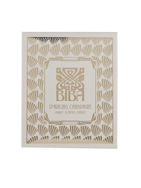 Biba Sparkling champagne scented candle