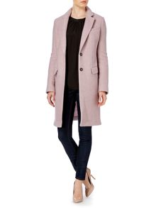 Pocket front coat
