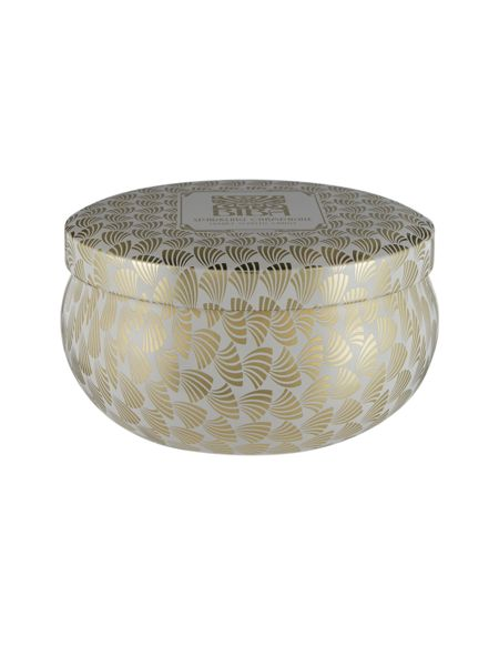 Biba Sparkling champagne tin candle