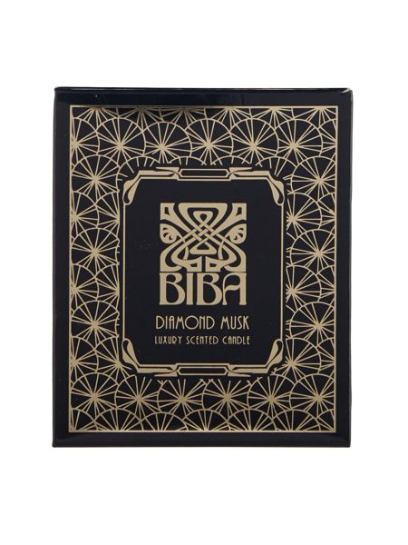 Biba Diamond musk scented candle
