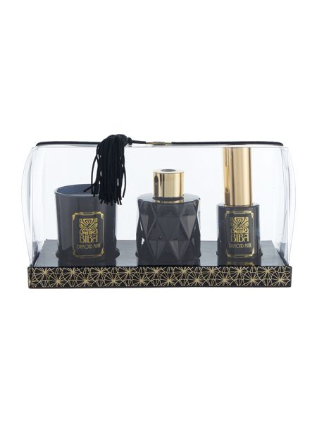 Biba Diamond musk home fragrance gift set
