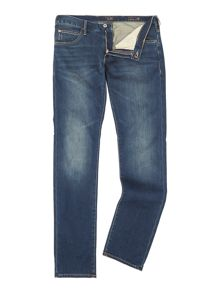J10 Slim fit mid wash jean