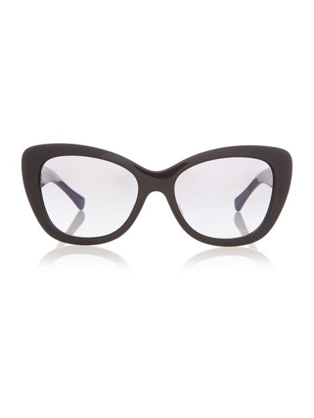 Coach HC8143B female black cat eye sunglasses