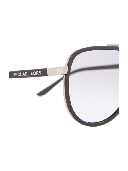 Michael Kors Mk5006 female silver aviator sunglasses