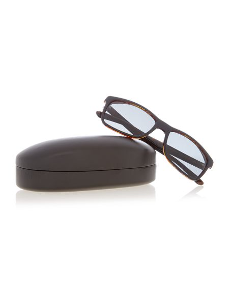 Polo Ralph Lauren Ph4098 male black square sunglasses