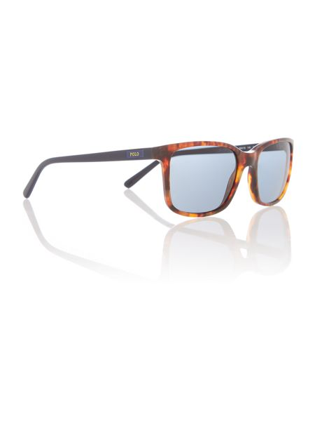 Polo Ralph Lauren Ph4103 male brown square sunglasses