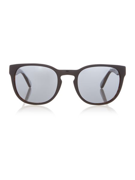 Polo Ralph Lauren Ph4099 male black round sunglasses