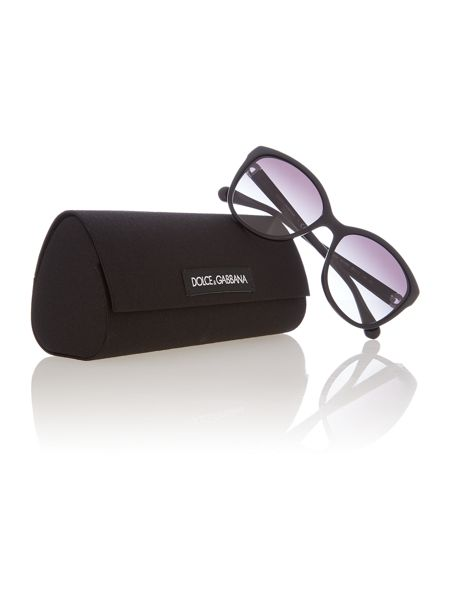 Dolce&Gabbana Dg4258 female black square sunglasses