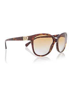 Dg4258 female brown square sunglasses