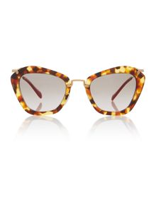 Miu Miu MU 10NS cat eye sunglasses