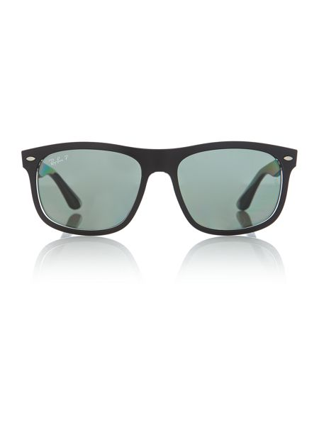 Ray-Ban Rb4226 male black rectangle sunglasses