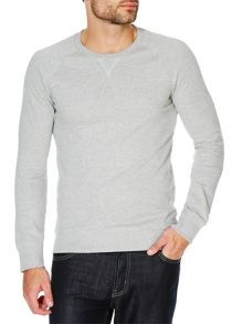 Plain Crew Neck Pull Over Overhead