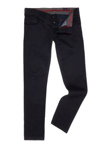 J23 Coloured Wash Mid Rise Jeans