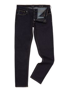 J06 Slim fit dark rinse jean