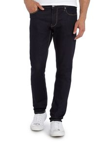 Armani Jeans J06 Regular Fit Dark Rinse Jean