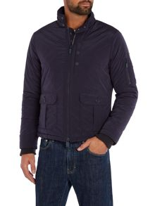Casual Showerproof Full Zip Harrington Jacket