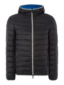Casual Showerproof Full Zip Quilted Jacket