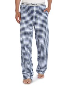 Relax Long Check Jersey Nightwear Trousers