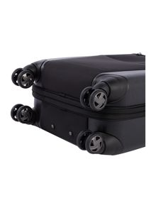 Linea Hylite II black 8 wheel cabin suitcase