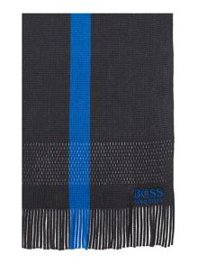 Hugo Boss Plain Chunky Knit Scarf