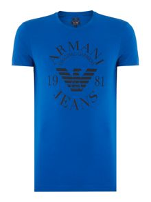 Slim Fit Logo Print T-Shirt