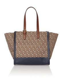 Heritage multi-coloured tote bag