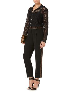 Biba Jacquard detail tailored trouser