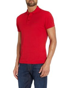 Armani Jeans Regular Fit logo Polo Shirt