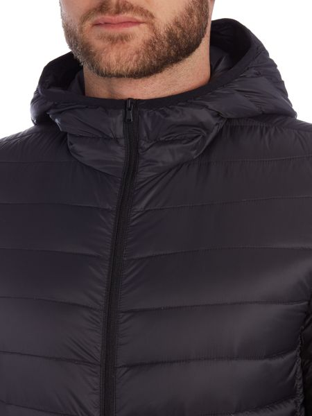 Benetton Casual Full Zip Quilted Jacket