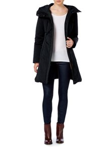 Padded coat with removable