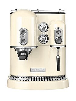 KitchenAid Artisan Espresso Maker Almond Cream