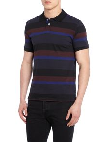 Paul Smith Jeans Regular Fit Multi Stripe Polo Shirt