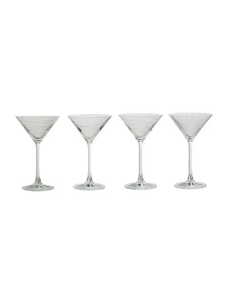 Linea Kimberley martini set of 4