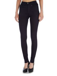 Joan Smalls high rise legging jean in enzyme