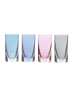 Lustre shot set of 4