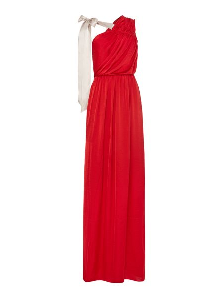Needle and thread maxi dress with bow detail red house of fraser