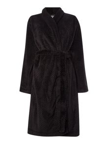 Calvin Klein cozy fleece robe
