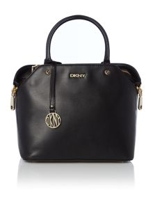 DKNY Greenwich black mini zip tote bag