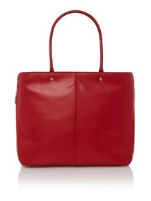 Greenwich red tote bag