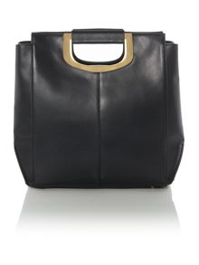 Greenwich black tote bag