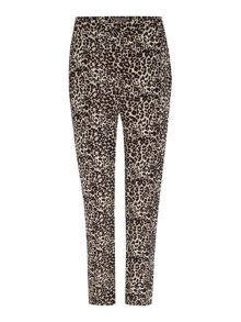 Vince Camuto Relaxed trouser in leopard print