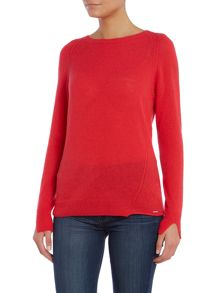 M-nirvanas cashmere mix knitted jumper