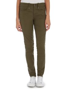 P-amal structured cotton trousers