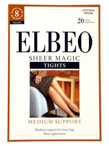 Elbeo Sheer magic medium support 20 denier sheer tights