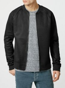 Long sleeve mesh bomber
